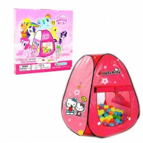 Mainan Tenda anak  - tenda bola Little Pony Pink - Ages 3+