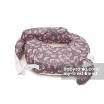 My Brest Friend Nursing Pillow - Pink Flowing Fans