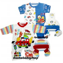 Set 3 in 1 Jumper Bayi - Unisex - Newborn - 3M - Best Item
