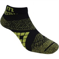 Kaos Kaki Marel Socks Running Twist Diamon MA1P-16-RUN009 Black/Green