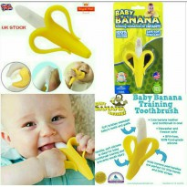 Baby Banana Teething Toothbrush for Infants BPA Free