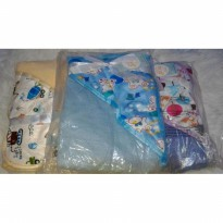 Baby blanket hoodie just to you layette carter's selimut bayi lembut
