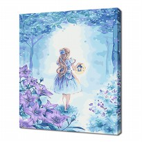 [Painting by famous paintings] 3040 Alice in Wonderland 22Colors D.I.Y
