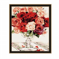 Painting by famous paintings - Rose Vase