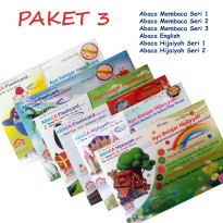 Paket 3 Abaca Flash Card [6 pcs]