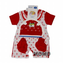 Jumper Baby Lucky Boy 3 In 1 Set Pendek - 3 Sampai 6 Bulan