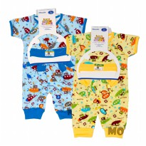 Promo Special Jumper Baby Lucky 3 In 1 Set - 3 Sampai 6 Bulan