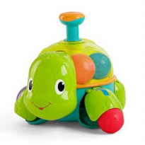 Bright Starts Having A Ball Drop 'n Spin Turtle Mainan Balita Seru Dan Menarik