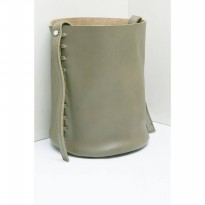 Chara Bucket Bags - Olive
