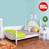 THE OLIVE HOUSE - TEMPAT TIDUR QUEEN ANNE QUEEN BED UK 160