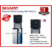 Sharp Dispenser SWD-75EHL-SL - Silver Water Dispenser Bottom Loading