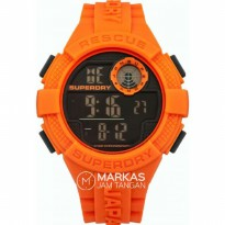 Jam Tangan Pria SUPERDRY Mens Radar Digital Rubber Strap