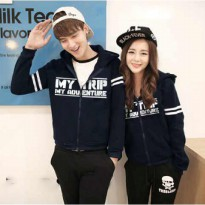Jaket Baju Couple | Sweater Couple |Pakaian Pasangan JKPK AI07