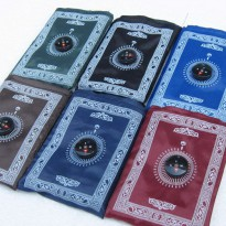 [Ready Stock]Sajadah Lipat/ Sajadah kompas/ sajadah/ kompas/ Pocket Prayer Mat /use for pray