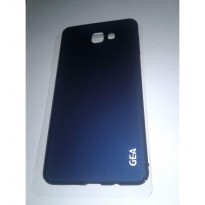 Samsung Galaxy A9 Pro Elegant GEA Premium Soft Touch Case Cover - FULL BLUE NAVY