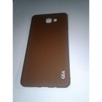 Samsung Galaxy A9 Pro Elegant GEA Premium Soft Touch Case Cover - FULL BROWN