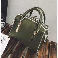 Tas Tenteng Hand Bag Totebag Hijau Green Charles And Keith Kate Spade