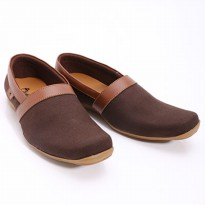 Dr.Kevin Loafers & Moccasins Men Shoes Denim 13172 Brown