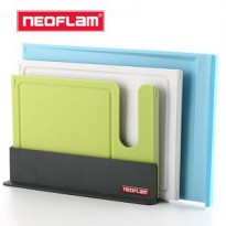 Neoflam antibacterial index cutting board set / chopping board set