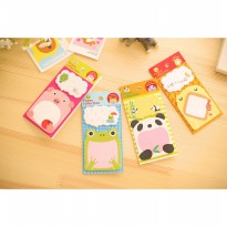 ~Cutevina~ Post it / Note Paper / Sticker Memo / Sticky note Karakter Binatang Lucu