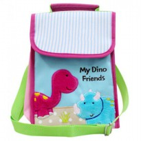 Char & Coll Collin Lunch Bag Triceratops & Brontosaurus