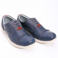 Dr.Kevin Leather Shoes 13219 Navy