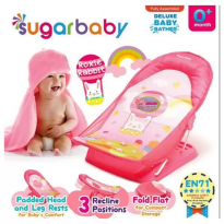 Sugar Baby Deluxe Baby Bather New Motif - Roxie Rabbits