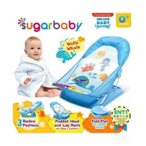 Sugar Baby Deluxe Baby Bather New Motif - Wally Whale