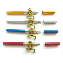 mini fishing rod / alat pancing mini / pen joran / aksesoris memancing
