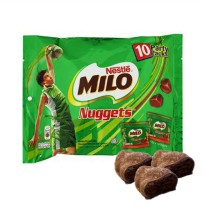 Nestle Milo Nuggets isi 10 party packs 15g x 10 packs halal coklat
