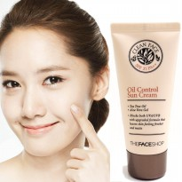The Face Shop Clean Face Oil Control Sun Cream SPF 35 PA++