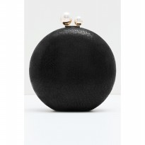 Chelle Classic Clutch - Black
