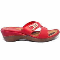 HOMYPED ELEGANCE B 55 SANDAL WANITA  RED