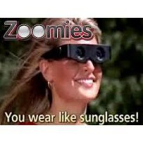 Zoomies Binocular Glasses As Seen On TV / Kacamata Pembesar / Teropong