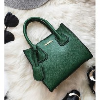 Tas Fossil Wanita Import Guess Gucci Hush Puppies Dark Green Saffiano