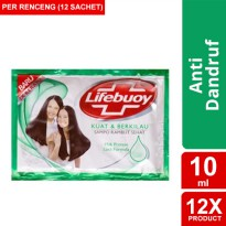 LIFEBUOY SHAMPOO STRONG & SHINY 10ML