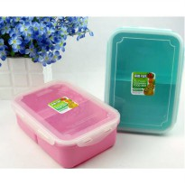 [globalbuy] SISTEMA LUNCH BOX SALAD TO GO PICNIC SANDWICH BOXES DRINK BOTTLES/3347174