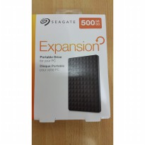 Harddisk External Seagate Expansion 500GB