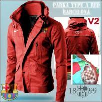 Jaket Parka Type A Barca Red