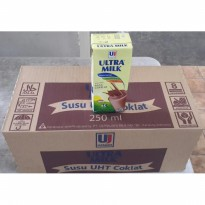 Ultra Milk Choco 250ml / Box Go Send