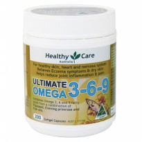 Healthy Care Ultimate Omega 3 - 6 - 9 ( 200 Capsules )