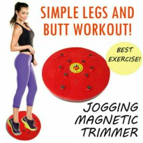 Jogging Trimmer / Magnetic Trimmer Body Plate / Alat Olahraga