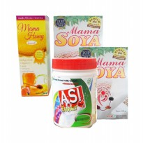 ASI Booster Bundling Tea, 2 Mama Soya dan Mama Honey