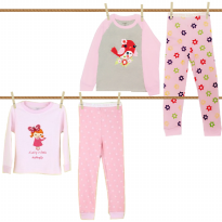 Arrow Apple Kids - Piyama Lgn Panjang Girl (Size: 18M - 6Y)
