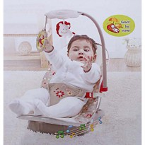 Mastela Fold Up Infant Seat with Music and Soothing Vibration