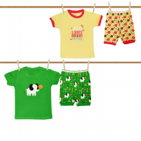 Arrow Apple Kids - Piyama Lgn Pendek Boy & Girl (Size: 18M - 6Y)