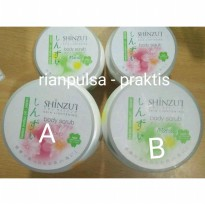 Lulur Mandi Gosok Shinzui Body Scrub Oil Lotion Shower Bath Milk Skin Lightening Kulit Bersih Cerah