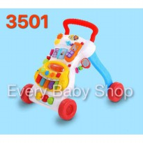 BabyElle 8 in 1 Musical Activity Baby Walker BE3501 (Red) BPA FREE