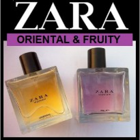 PAKET PARFUM ZARA 2 IN 1 ORIENTAL & FRUITY 2x100ML AUTHENTIC ORIGINAL