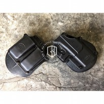 [Gold Product] Holster Fobus GL2 with Double Magazine Pouch Tactical Holster Airsoft
